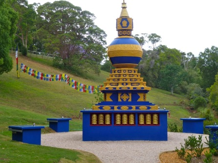 Kalachakra stupa @CrystalCastle