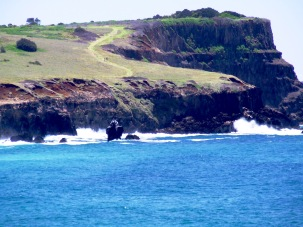 Lennox headland from Boulder Beach