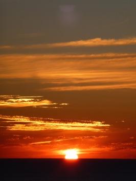 Sky on fire off Cape Byron